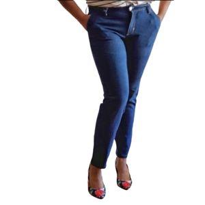 Women's Jeans Curvy Slim Ankle Blue Size 6